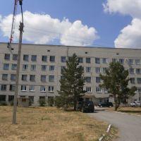 Кетовская больница (вид сзади), Кетово