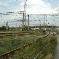 2003 Курган. Жд пути / Kurgan. Railway line towards the east, Курган