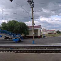 Вокзал, Лебяжье