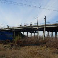 Мост (Bridge through railway), Макушино