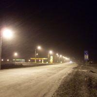 Огни заправки (Light of gas station), Макушино