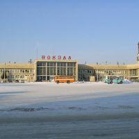 Железнодорожный вокзал, Шадринск