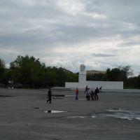 Памятник В.И. Ленину на площади в Шумихе, Шумиха
