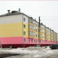 Белый-желтый-розовый, Щучье