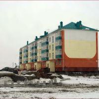 Зеленые балконы с тарелками, Щучье