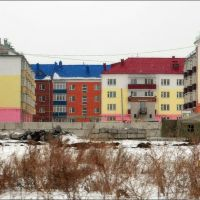 Сине-красный-зеленый крыш, Щучье
