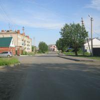 по центральной улице, Щучье