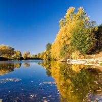 Осень на реке, Альменево