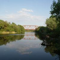 Курск, железнодорожный мост, Альменево
