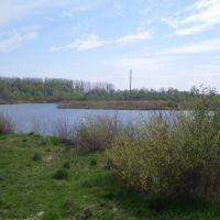"""Lake """"barge"""", Дмитриев-Льговский"""