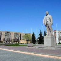 Lenin Statue, Железногорск