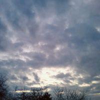 Вечернее небо, Золотухино
