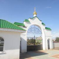 Главные ворота монастыря, Золотухино