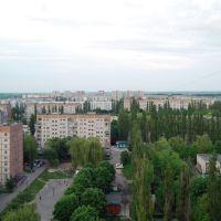 4-й мкр-н - вид с балкона, Курчатов