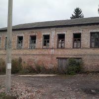 """Старое заброшенное здание возле ЦРБ. """"2013 год""""., Льгов"""