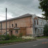 Разрушенный Дом пионеров, вид сбоку, Льгов