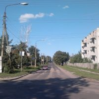 улица Нипиющего. Вид с улицы Гагарина... ***(((фотографировал Сухарев Р.В. - Камера Мобильный смартфон Nokia С7-00)))***, Льгов