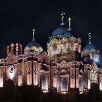 Kursk region. Obojan town.Old temple., Обоянь