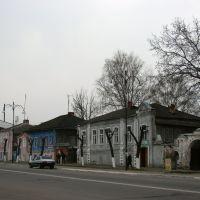 Улица в ОбояниStreet in Oboyan, Обоянь