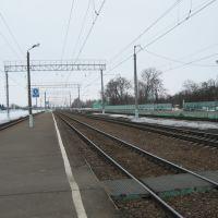 Вид с вокзала в сторону г. Курск (март 2011 г.), Поныри