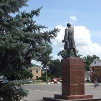 Поныри. Гл. площадь. Памятник Ленину, Поныри