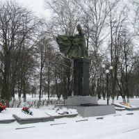 Мемориал погибшим в боях  за станцию Поныри в 1943 г, Поныри