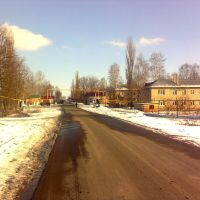 Oktjabrskaja st. (spring), Пристень