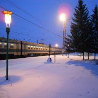 ж.д.вокзал Ржава, Пристень