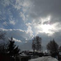 Небо.Зимнее небо, Пристень