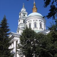 Kursk region. Rilsk town.Old temple., Рыльск