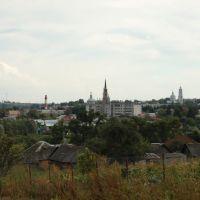 Вид на город от монастыря, Рыльск