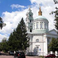 Rylsk, old town, Uspensky Cathedral, Рыльск