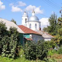 755.Троицкая церковь на горизонте., Суджа