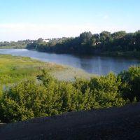 река Матыра под городом Грязи, Грязи