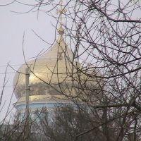 собор с другого берега зимой, Данхов