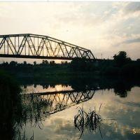 Жд мост на закате, Данхов