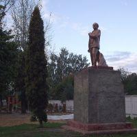 Памятник Ленину в парке железнодорожников, Елец