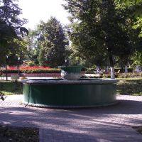 Старинный фонтан в городском саду, Елец