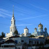 Вид на Монастырь со стороны Парка, Задонск