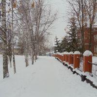 Зима .Школа №2, Задонск