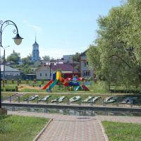 Парк в Задонске, Задонск