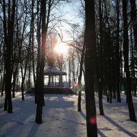 Беседка в парке, Измалково