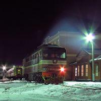 Поезд Лев Толстой - Москва, Лев Толстой