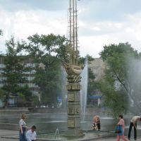 Памятник у Петровского пруда, Липецк