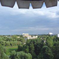 Липецк. Вид с колеса обозрения - Lipetsk. View from Ferris wheel, Липецк