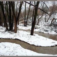 Зимний ручей, Липецк