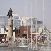 Памятник Петру I на площади Петра Великого, Липецк
