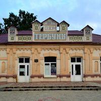 Вокзал станции Тербуны (Railway station Terbuny), Тербуны