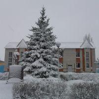 Памятник Ленину у табачки, Усмань