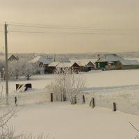 Зима в Песковатке, Усмань